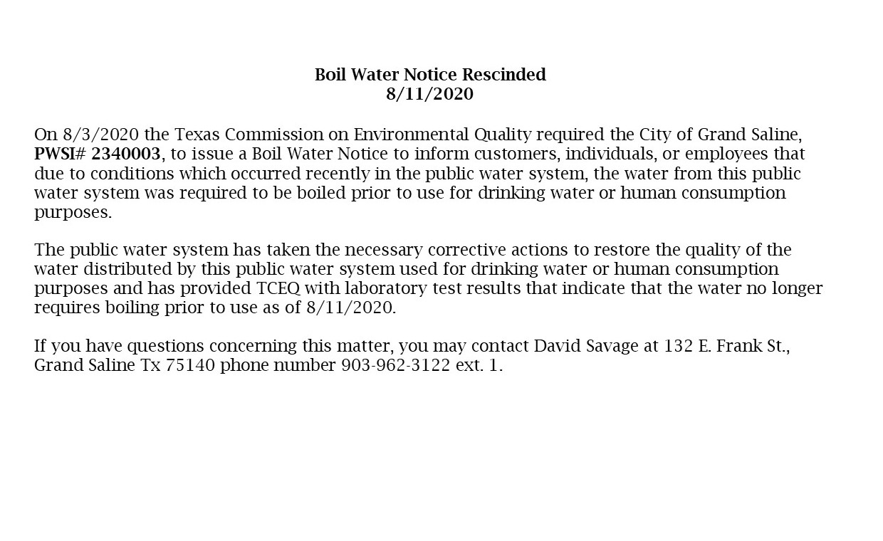 rescinded boil water notice 8 11 2020
